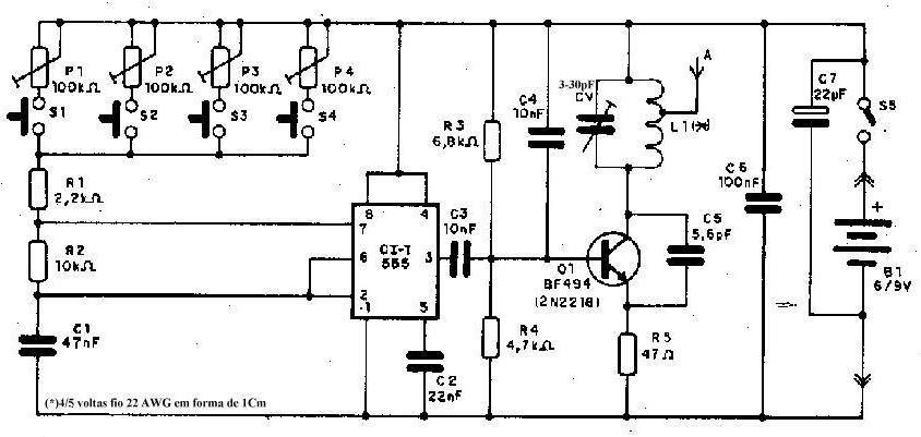 silveira consertos  circuito de transmissores de   frequ u00cancia modulada   fm