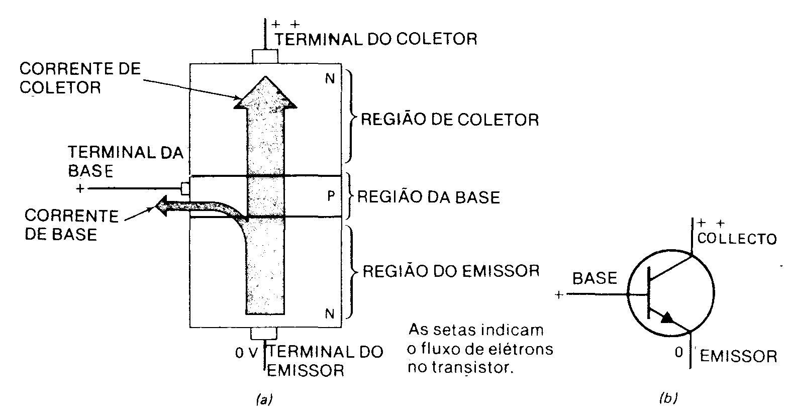 Esta corrente externa é sempreconsiderada uma corrente de elétrons. Pode-se  ver na Figura que o transistor possui três seções que são chamadas emissor,  ... 3208222bd3