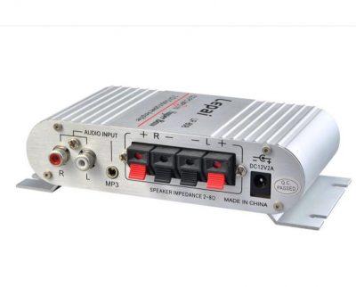 Amplificador de Áudio 20W x 2