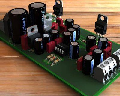 Amplificador de Áudio 40W x 4