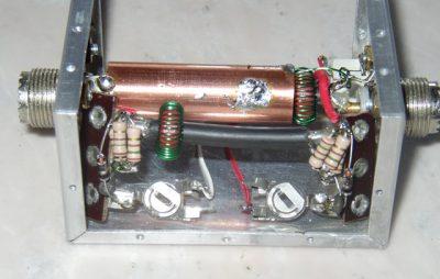 Medidor de RF / Carga de Energia Fantasma
